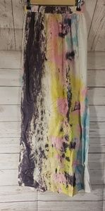 NWT TopShop Multi Color Long Skirt